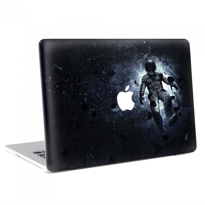 astronaut im raum macbook skin aufkleber. Black Bedroom Furniture Sets. Home Design Ideas