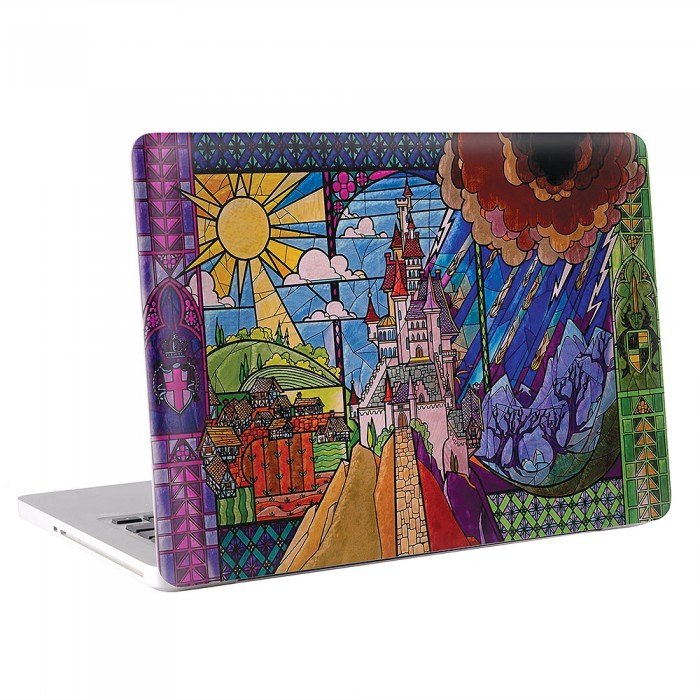Beauty and the Beast Castle MacBook Skin / Decal  (KMB-0298)