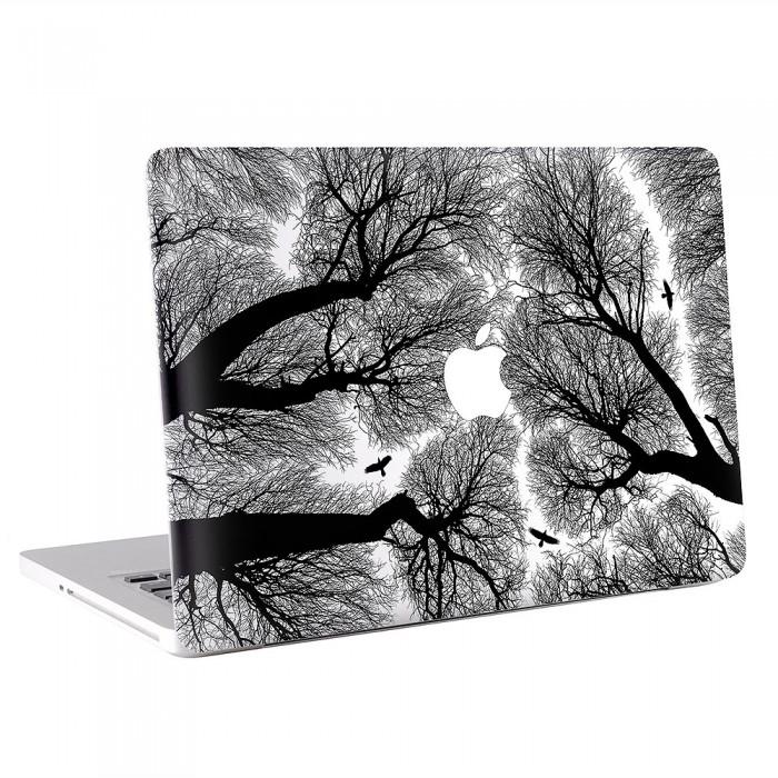 Tree and Bird MacBook Skin / Decal  (KMB-0299)