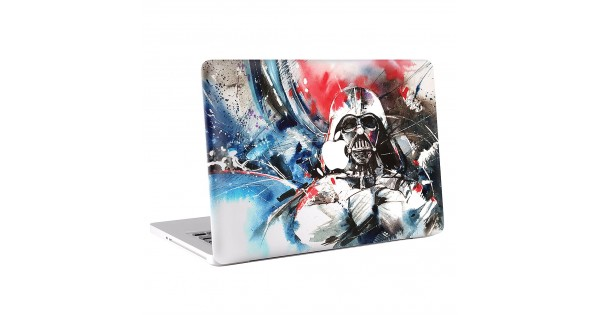 star wars darth vader art macbook skin aufkleber. Black Bedroom Furniture Sets. Home Design Ideas