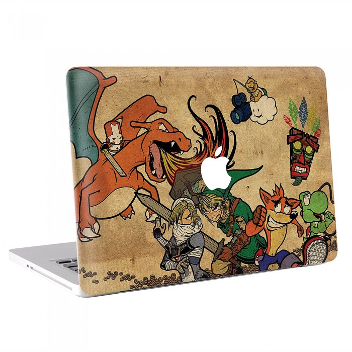 Link - The Legend of Zelda MacBook Skin / Decal  (KMB-0323)