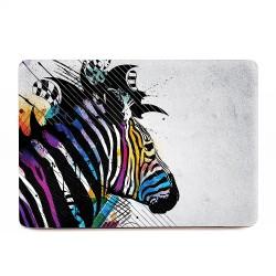 Colorful Zebra Art Apple MacBook Skin / Decal