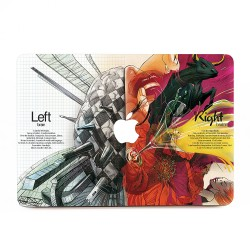 Abstract Multicolor Brain Artwork Apple MacBook Skin / Decal