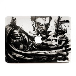 Batman Joker Dark Knight Oil Painting Apple MacBook Skin / Decal