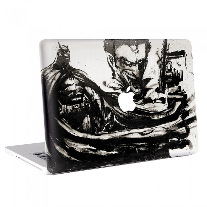 Batman Joker Dark Knight Oil Painting MacBook Skin / Decal  (KMB-0399)