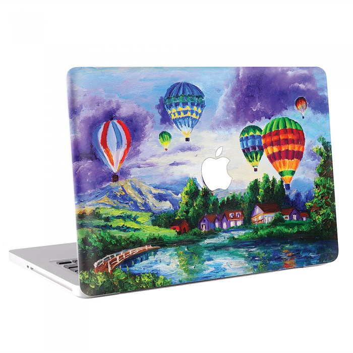 Balloon Painting MacBook Skin / Decal  (KMB-0430)