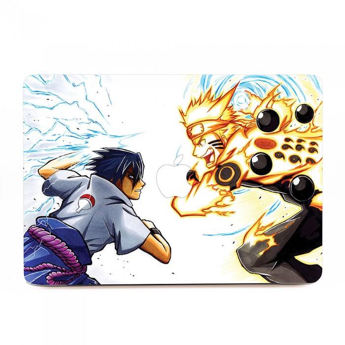 Naruto Vs Sasuke Fighting Macbook Skin Decal