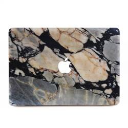 Black Marble Rock Stone Apple MacBook Skin / Decal