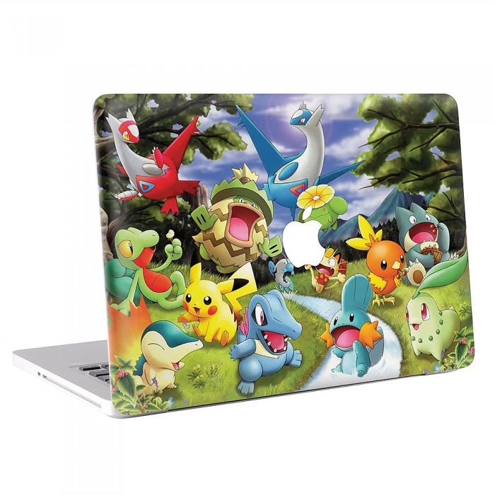 Pokemon Cartoon MacBook Skin / Decal  (KMB-0447)