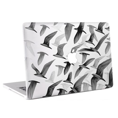 Bird Black and White Apple MacBook Skin / Decal