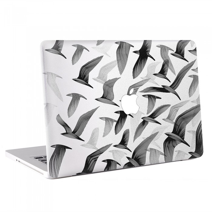 Bird Black and White MacBook Skin / Decal  (KMB-0450)