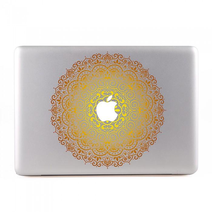 Ornamental Mandala Gold MacBook Skin / Decal  (KMB-0451)