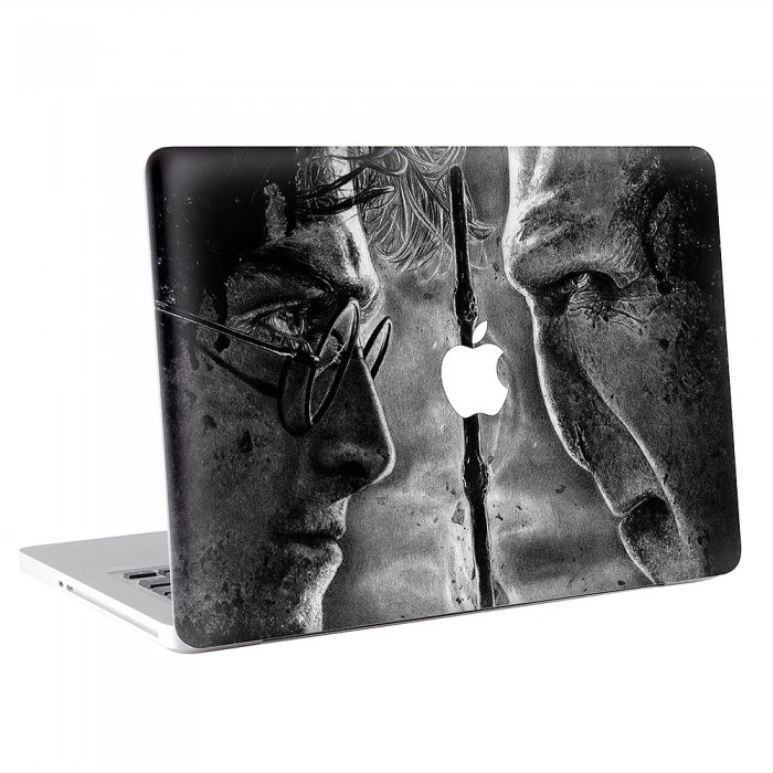 It All Ends Harry Potter MacBook Skin / Decal  (KMB-0460)
