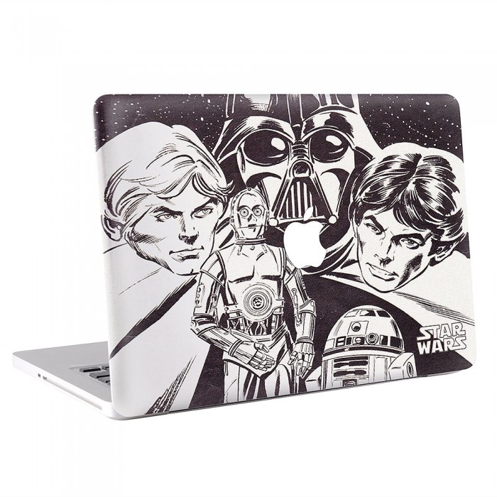 Classic Star Wars MacBook Skin / Decal  (KMB-0463)