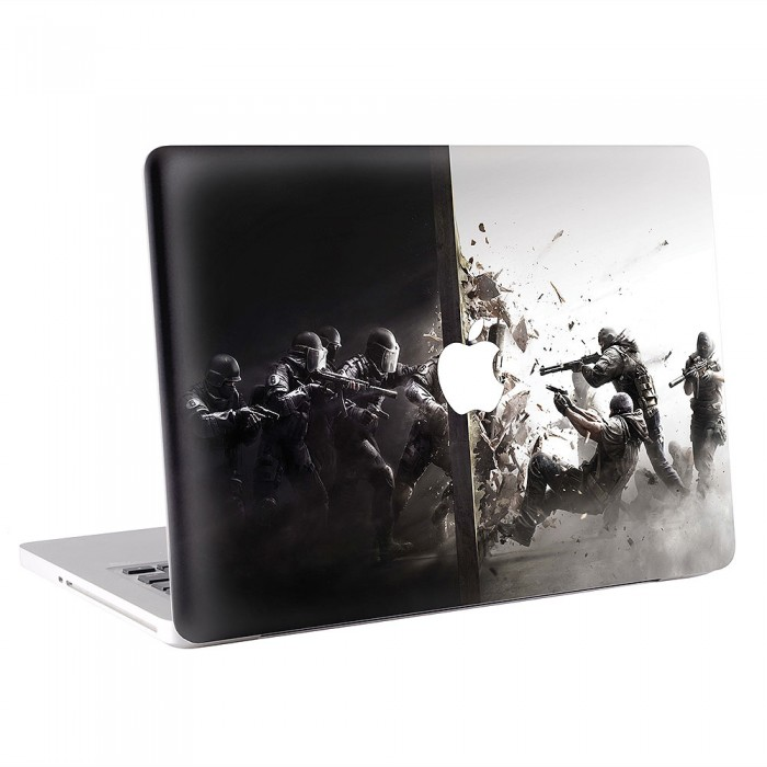 Tom Clancys Rainbow Six Siege Fighting MacBook Skin / Decal  (KMB-0471)