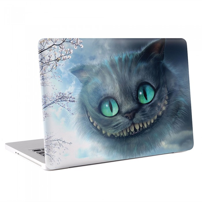 Alice In Wonderland cheshire Cat MacBook Skin / Decal  (KMB-0475)