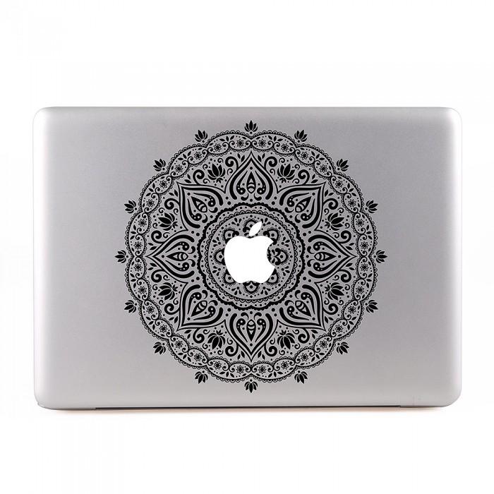 Indian Ornaments Flower MacBook Skin / Decal  (KMB-0479)