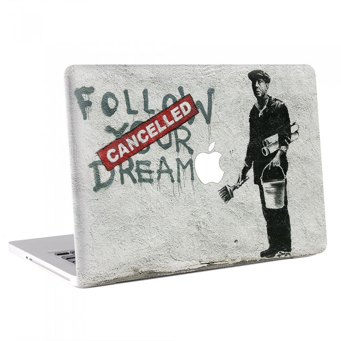 Follow Your Dreams MacBook Skin / Decal  (KMB-0481)