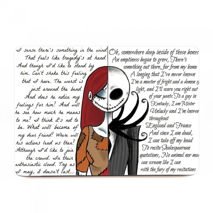 Jack and Sally Nightmare Before Christmas MacBook Skin / Decal