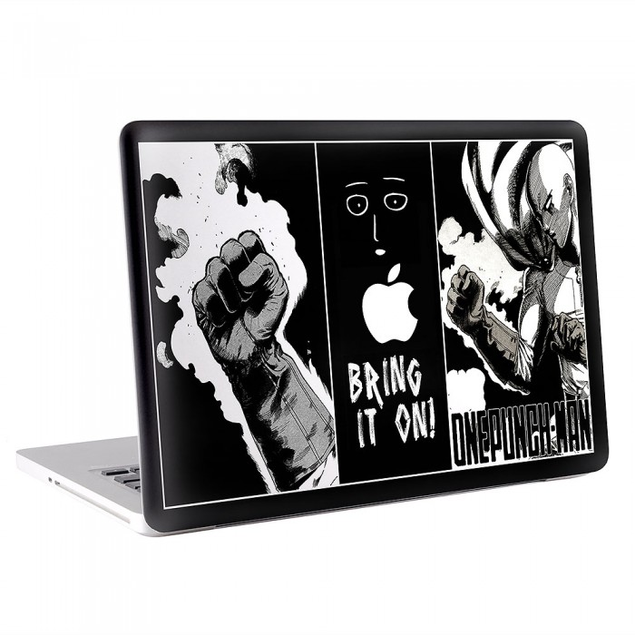 One Punch Man Saitama #1 MacBook Skin / Decal  (KMB-0486)