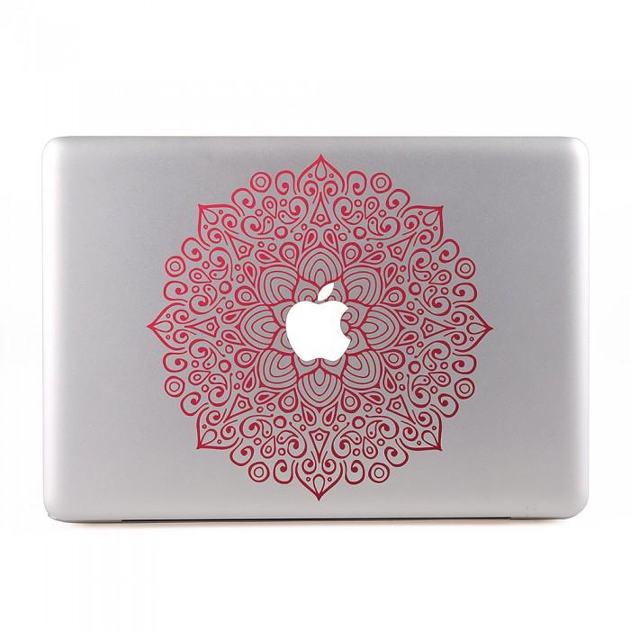 Red Mandala MacBook Skin / Decal  (KMB-0487)