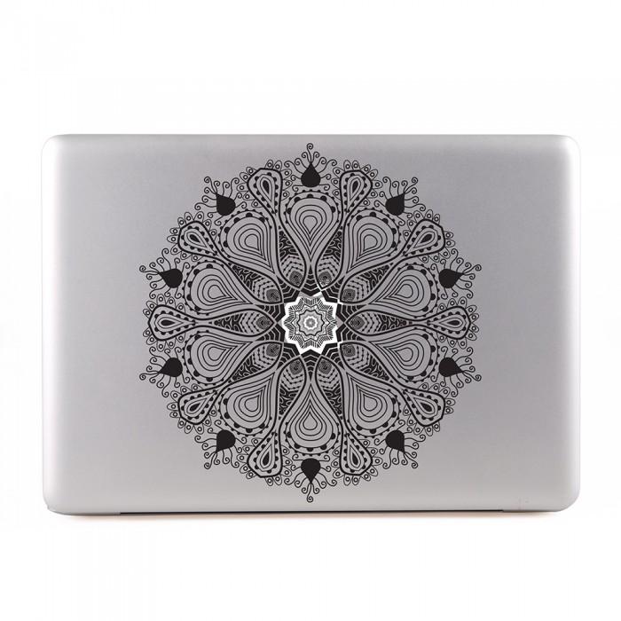 White Mandala MacBook Skin / Decal  (KMB-0488)