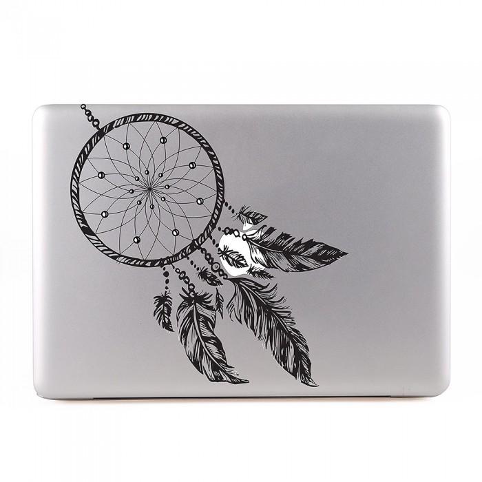 Hand Drawn Dream Catcher MacBook Skin Aufkleber Enchanting Drawn Dream Catchers