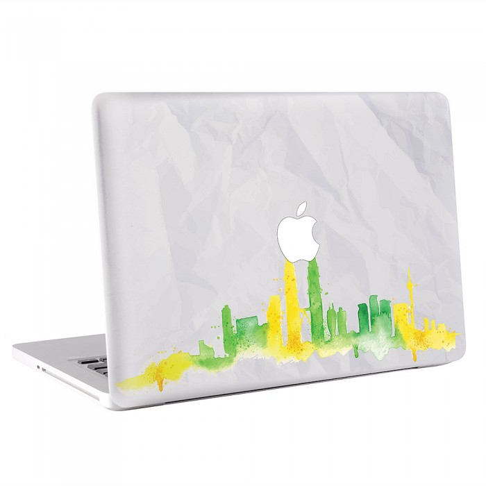 Kuala Rumpur Skyline MacBook Skin / Decal  (KMB-0494)