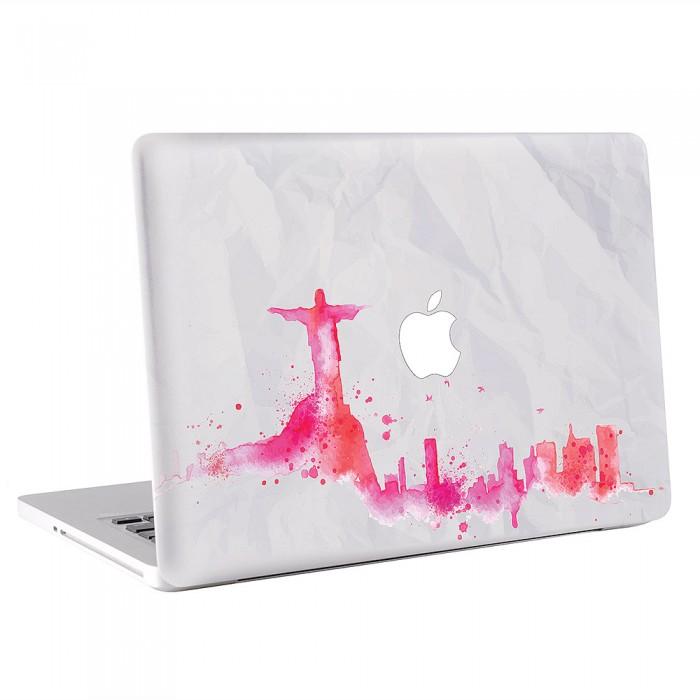 Rio de Janeiro Skyline MacBook Skin / Decal  (KMB-0495)