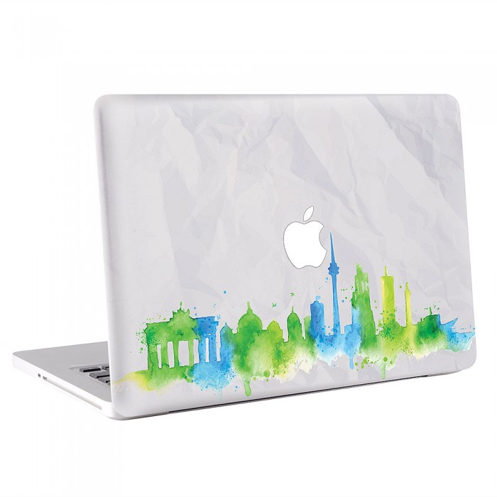 Berlin Skyline MacBook Skin / Decal  (KMB-0499)