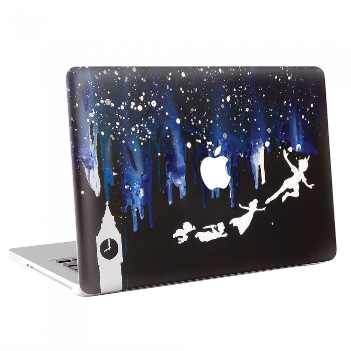 Peter Pan Melted Crayon Art MacBook Skin / Decal