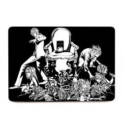 Death Note Black and White  Apple MacBook Skin / Decal