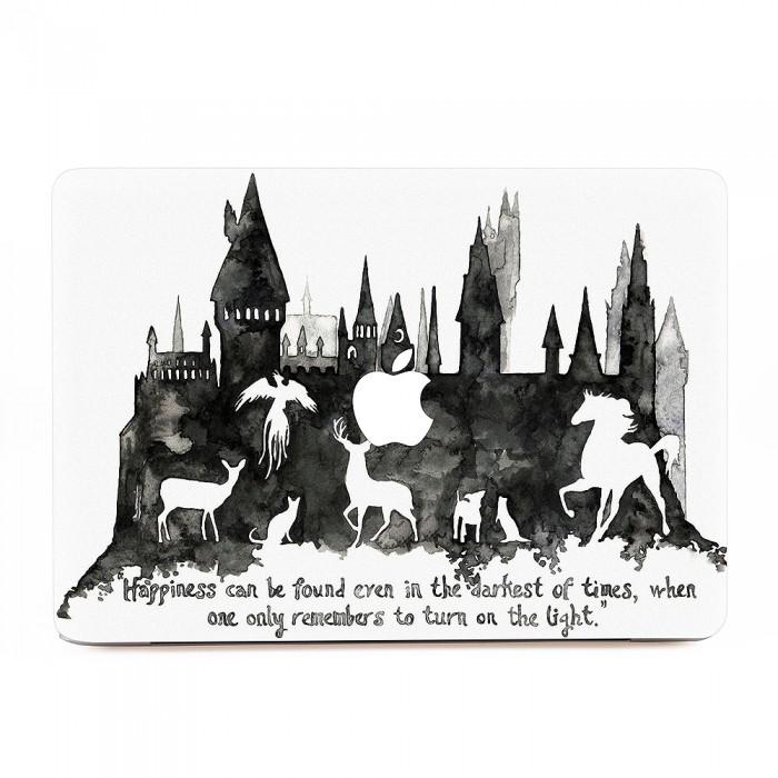 Hogwarts art macbook skin decal - Hogwarts decal ...