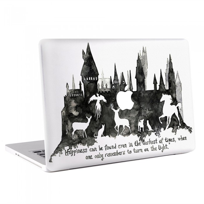 Hogwarts Art  MacBook Skin / Decal  (KMB-0549)