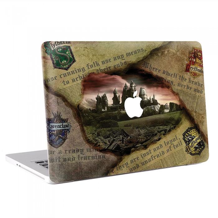 Harry Potter Hogwarts  MacBook Skin / Decal  (KMB-0550)