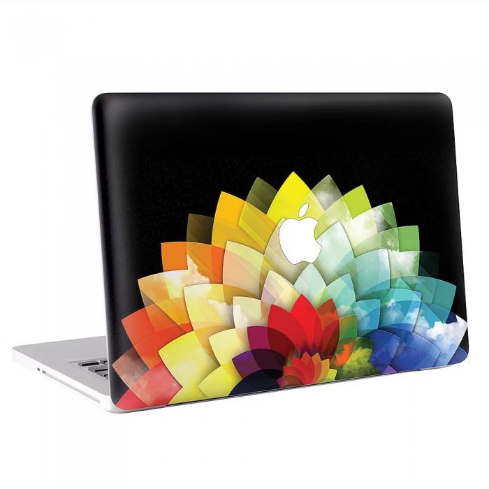 Rainbows Flowers  MacBook Skin / Decal  (KMB-0556)