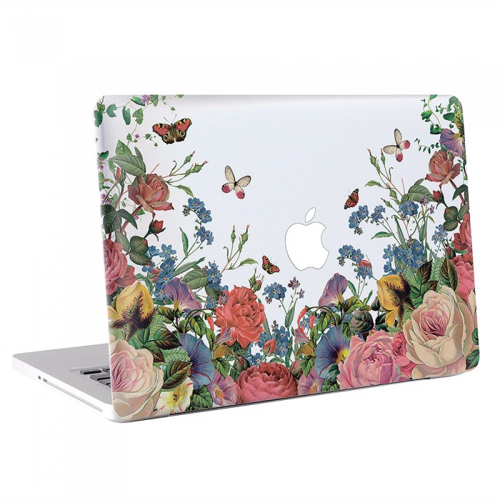 Flower Floral  MacBook Skin / Decal  (KMB-0563)