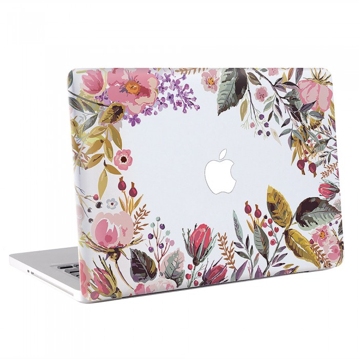 Flower Vintage  MacBook Skin / Decal  (KMB-0569)