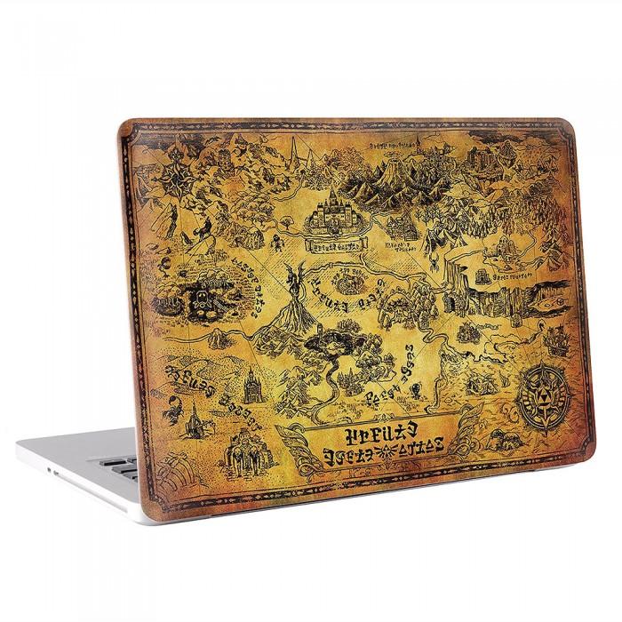 The Legend of Zelda Collector's Puzzle  MacBook Skin / Decal  (KMB-0571)