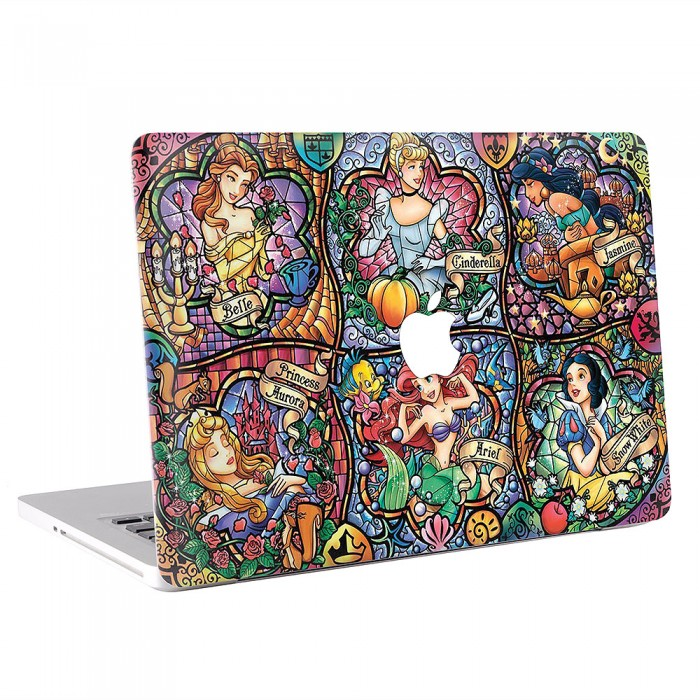 Princess Stained Glass  MacBook Skin / Decal  (KMB-0573)