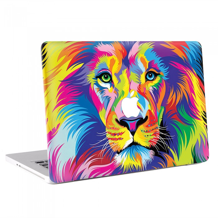 Colorful Lion  MacBook Skin / Decal  (KMB-0574)