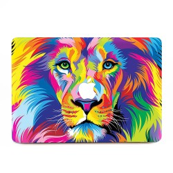 Colorful Lion  Apple MacBook Skin / Decal