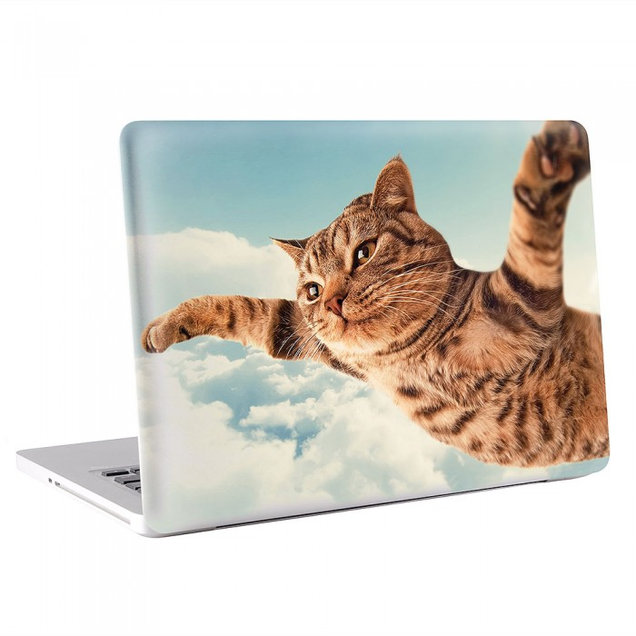 I believe I can fly - Cat  MacBook Skin / Decal  (KMB-0577)