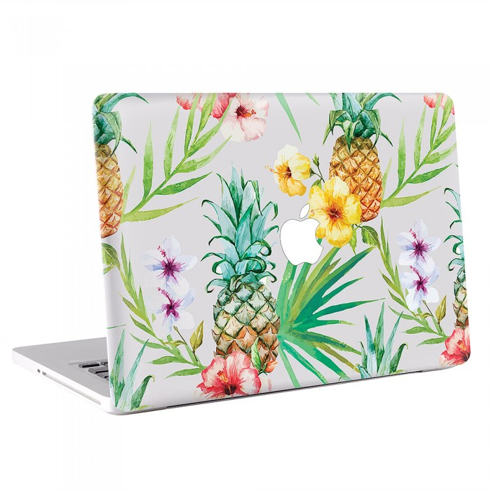 Watercolor Tropical Fruit Plants  MacBook Skin / Decal  (KMB-0585)