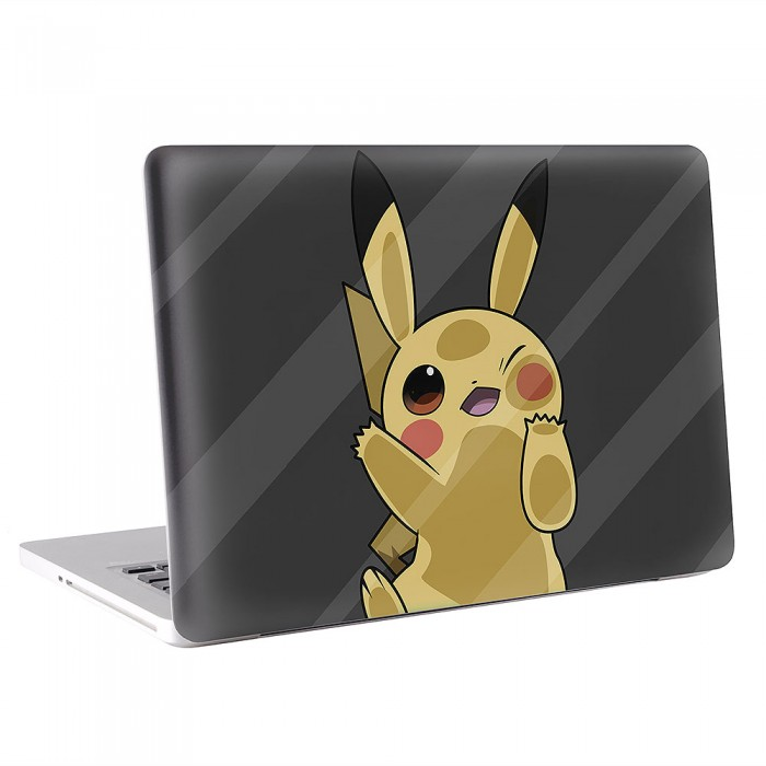 pokemon pikachu macbook skin aufkleber. Black Bedroom Furniture Sets. Home Design Ideas