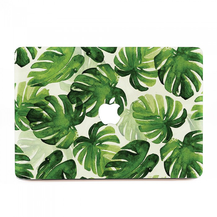 Watercolor Tropical Leaves Macbook Skin Decal ✓ free for commercial use ✓ high quality images. mobigad