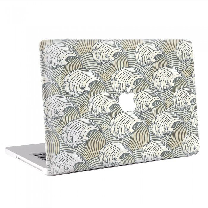 Waves Pattern   MacBook Skin / Decal  (KMB-0605)