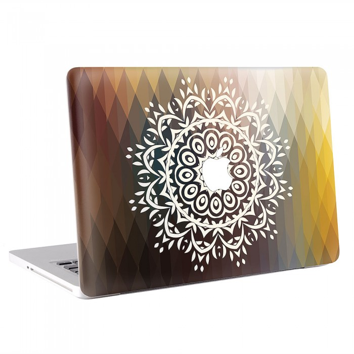 mandala macbook skin aufkleber. Black Bedroom Furniture Sets. Home Design Ideas