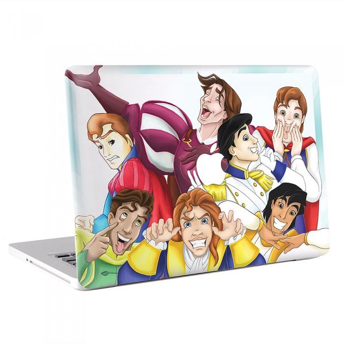 Funny Disney Prince  MacBook Skin / Decal  (KMB-0608)
