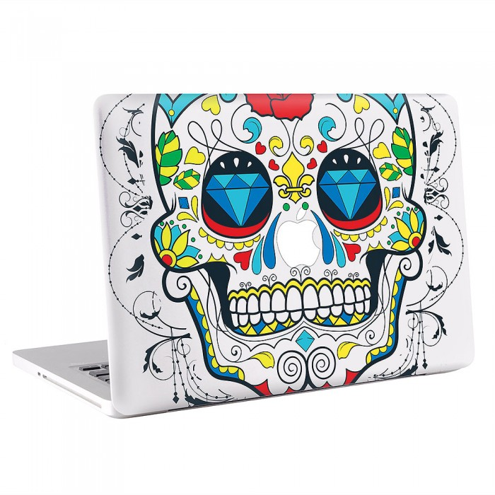 Sugar Skull   MacBook Skin / Decal  (KMB-0621)